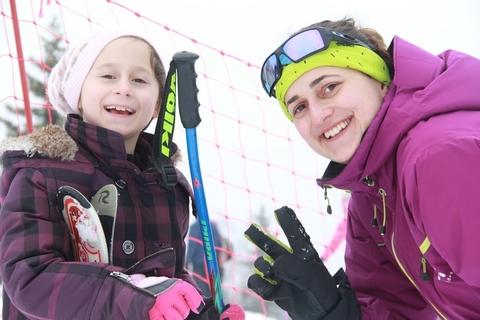 Опитай да караш ски с ПараКидс